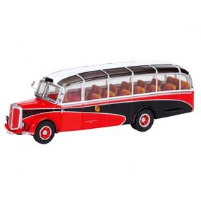 Antiguo Colectivo Bus Micro Schuco Saurer Ho 1/87 Metal