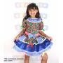 Vestido Junino Para Criança