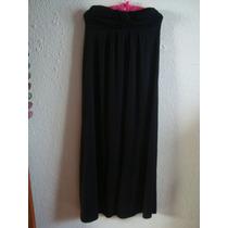 Maxi Vestido Strapless, T S, Limpia De Closet