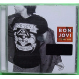 Bon Jovi It S My Life Cd Single Made In Mexico C/ Video Bvf