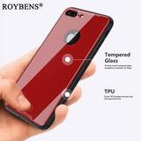 Glass Case Bumper Silicon Iphone X | 8 | 8+ | 7 | 7+ |6 | 6+