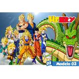 Painel Dragon Ball Z Lona Festa Aniversario Decoração