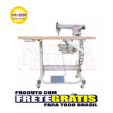 Máquina De Costura Industrial Reta Gemsy Sg8900 Nova