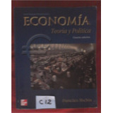 Economia Teoria Y Politica Francisco Monchon