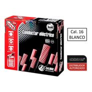Caja 100 Mts Cable Iusa Blanco Thw Cal 16 Awg 100% Cobre
