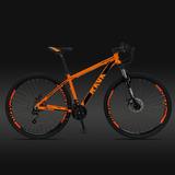 Bicicleta Aro 29 Rava Pressure Shimano 21v Suspensão C/trava