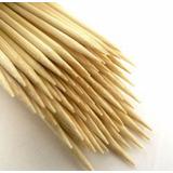 Palitos Brochetas 40cm Anticuchos Espiropapas De Bamboo