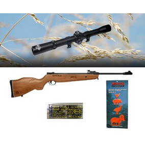 Rifle Diabolos Mendoza Rm-10 De Aire Calibre 5.5 Mm + Extras
