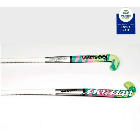 Palo Hockey Fibra/carbono Importado Pakistan Merriman Bossom