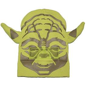 Star Wars Yoda Roll Down Máscara Sombrero De Gorro De Invie