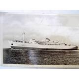 Postal Barco A. Dodero Argentina 1950