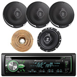Pioneer Deh-x4900bt Radio Bluetooth Para Coche Usb Aux Re...