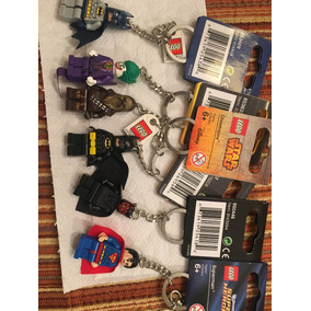 Llavero Lego Batman Superman Batichica Robin Joker Key Chain