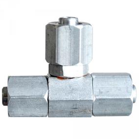 Conexão Niple Ou Tee 8mm Metal Rosqueado Para Suspensão A Ar