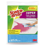 3m Scotch Brite Tela Esponja Superabsorbente 3 Pack