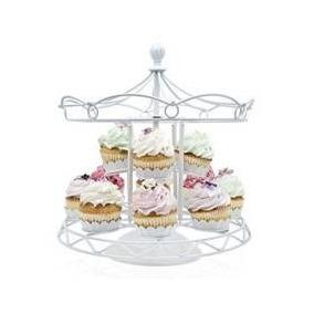 Base Para Cupcakes De Carrusel Única! Para 8 Cupcakes