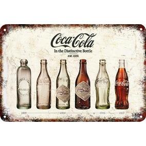 Carteles Antiguos Chapa Vintage Coca Cola 22.5x15cm Dr-17