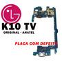 Placa Mãe Completa Lg K10 Tv16gb Anatel - Placa Com Defeito