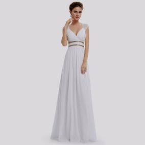 Vestido Noiva Import Bordado Ever Pretty Pr Entrega=tam M\ G