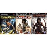 [ps2] Saga Prince Of Persia (3 Juegos) Para Playstation 2