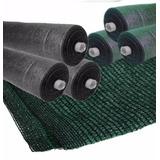 Media Sombra Verde C/h.negros 2.1 X 50mts + Regalo - Abrafer