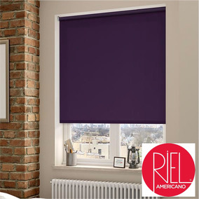 Cortinas Roller Black Out Riel Americano Dist/oficial Mdp