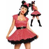 Minnie Disfraz Mujer Importado Disney Despedidas Egresados