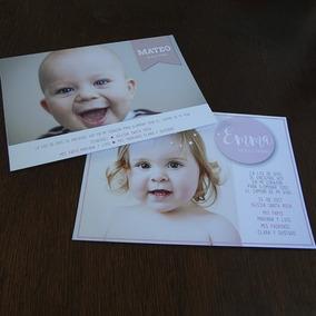 Diseño Invitaciones Tarjetas Bautismo Cumpleaños Baby Shower