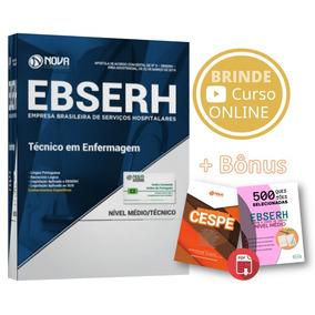 Apostila Ebserh Técnico De Enfermagem 2018 + Bônus