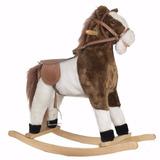 Caballo Pony Mecedor Peluche C/sonidos Calidad Premium Wo394