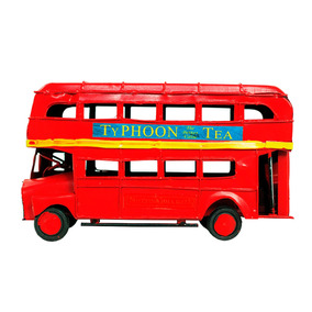 Veiculos Miniatura Em Metal Ônibus Typhoon Vintage