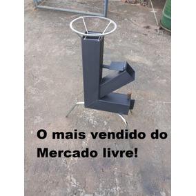 Rocket Stove, Fogão Foguete, Fogão A Lenha Portátil, Lazer