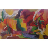 Pintura Oleo 123 X 75
