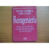 Libro Reingenieria / Michael Hammer Y James Champy
