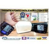 Tensiometro Digital De Muñeca Marca Citizen +2 Años Garantia