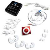 Swimbuds Deporte Y Underwater Audio Impermeable Ipod Bundle