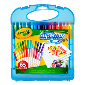 Kit De Canetinhas Super Tips Lavavel 25 Cores Crayola