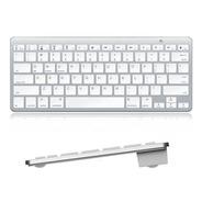 Teclado Bluetooth Ingles Compatible Con Mac / Pc / Tablet