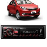 Aparelho Som Pioneer Bluetooth/usb/aux Fiat Grand Siena