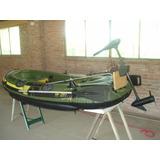 Bote Sevylor Fish Hunter Hf 280 Con Motor Electrico, Remos.