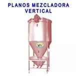 Maquina Mezcladora Vertical Alimentos Granja Mezclas