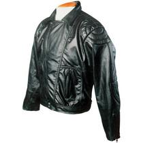 Jaqueta Moto Couro Tam. 52, 54 E 56