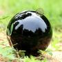 Esfera Cristal Bola Preta Azul Verde Vermelha Transparente