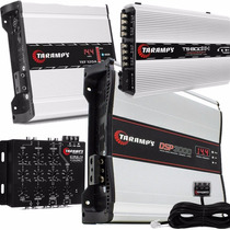 Modulo Taramps Dsp3000 + Ts 800 Compact + Fonte 120a + Crx-4