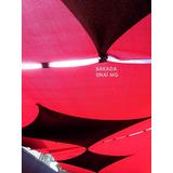 Tela Sombreamento Sombraforte Vermelha Garagem Jardim Decora