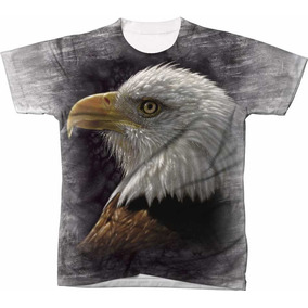 Camisa Camiseta Blusa 3d Águia Eagle Usa Estados Unidos 15