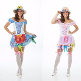 Vestido Festa Junina Mãe E Filha Adolescente,2 Vestidos