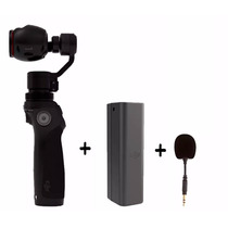 Dji Osmo Camera 4k Uhd Com 2 Baterias E Microfone Oferta