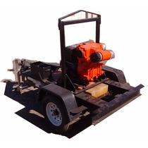 Bomba Agua 4 Motor Hatz Diesel Multiquip Qp4tz Con Remolque