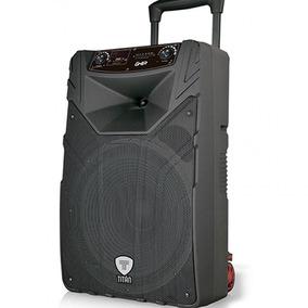 Bafle Bocina 15 Pulg Ghia-titan Recargable Tripie Bluetooth